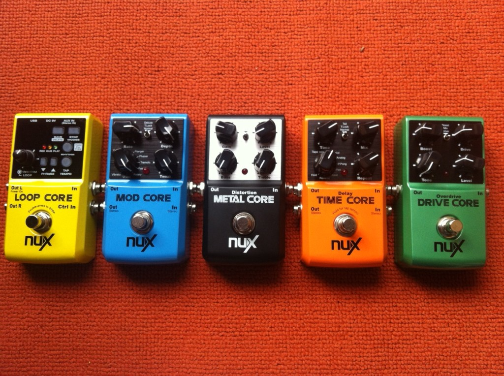 NUX PEDALS !!!